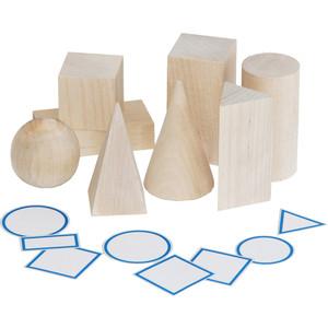 Набор Краснокамская игрушка Геометрические тела (-39)