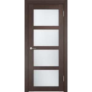 Дверь CASAPORTE Рома-11 остекленная 1900х550 экошпон Венге кьево рома