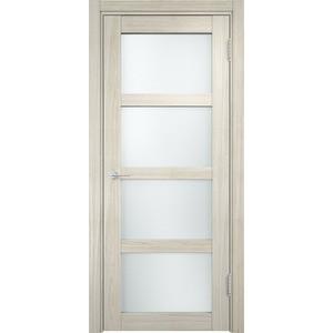 Дверь CASAPORTE Рома-11 остекленная 1900х550 экошпон Дуб белёный мелинга дверь межкомнатная ламинированная коллекция 10 8ф 2000х600х40 мм остекленная ст фьюзинг италорех л 11