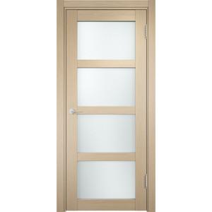 Дверь CASAPORTE Рома-11 остекленная 1900х550 экошпон Дуб белёный дверь межкомнатная ламинированная коллекция 10 8ф 2000х600х40 мм остекленная ст фьюзинг италорех л 11