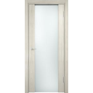 Дверь CASAPORTE Сан-Ремо-1 остекленная 2000х600 экошпон Дуб белёный мелинга ремо вакс спрей где