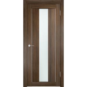 Дверь CASAPORTE Сицилия-2 остекленная 1900х550 экошпон Венге мелинга дверь casaporte сицилия 11 глухая 1900х550 экошпон венге мелинга
