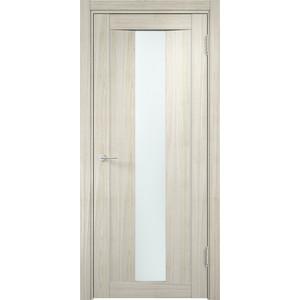 цена Дверь CASAPORTE Сицилия-2 остекленная 2000х700 экошпон Дуб белёный мелинга
