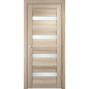 Дверь CASAPORTE Сицилия-12 остекленная 1900х550 экошпон Капучино