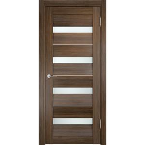 Дверь CASAPORTE Сицилия-12 остекленная 2000х600 экошпон Венге мелинга