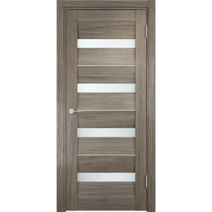 Дверь CASAPORTE Сицилия-12 остекленная 2000х600 экошпон Вишня малага