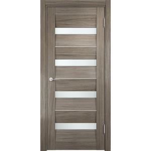 Дверь CASAPORTE Сицилия-12 остекленная 2000х800 экошпон Вишня малага