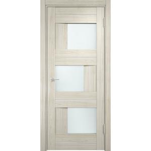 Дверь CASAPORTE Сицилия-14 остекленная 2000х900 экошпон Дуб белёный мелинга