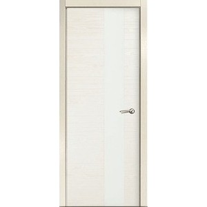 Дверь MILYANA ID_HL остекленная 2000х600 шпон Бьянко двери milyana alexdoor прима до американский орех