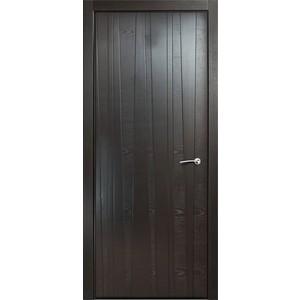 Дверь MILYANA ID_V глухая 2000х600 шпон Неро двери milyana alexdoor прима до американский орех