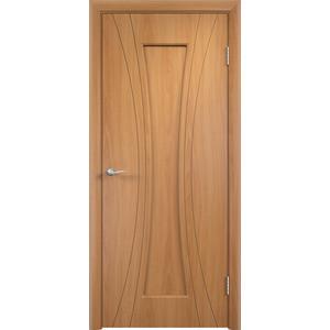 Дверь VERDA Богемия глухая 2000х600 ПВХ Миланский орех дверь verda каролина глухая 2000х900 шпон дуб
