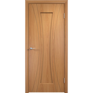 Дверь VERDA Богемия глухая 2000х700 ПВХ Миланский орех дверь verda каролина глухая 2000х900 шпон дуб