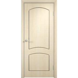 Дверь VERDA Кэрол глухая 1900х550 ПВХ Дуб белёный дверь verda каролина глухая 1900х550 шпон макоре
