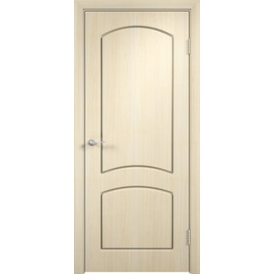 Дверь VERDA Кэрол глухая 2000х900 ПВХ Дуб белёный дверь verda стиль глухая 2000х900 шпон дуб белёный
