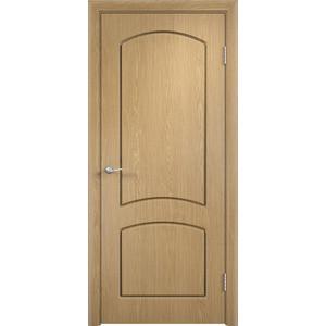 Дверь VERDA Кэрол глухая 2000х900 ПВХ Дуб дверь межкомнатная пвх коллекция porta порта 3 1900х600х40 мм глухая белый п 23