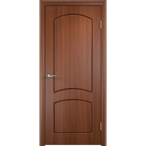 Дверь VERDA Кэрол глухая 2000х900 ПВХ Итальянский орех vental к 4s итальянский орех