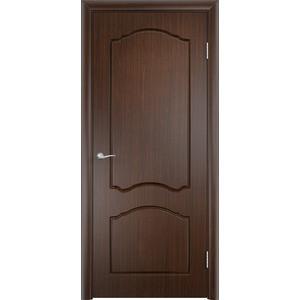 Дверь VERDA Лидия глухая 1900х600 ПВХ Венге дверь verda каролина глухая 2000х900 шпон дуб