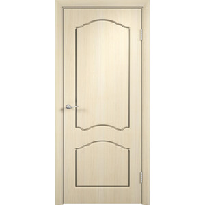 Дверь VERDA Лидия глухая 1900х600 ПВХ Дуб белёный дверь verda стиль глухая 2000х900 шпон дуб белёный