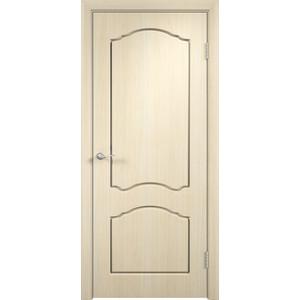 Дверь VERDA Лидия глухая 2000х400 ПВХ Дуб белёный