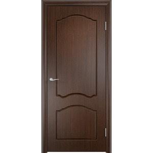 Дверь VERDA Лидия глухая 2000х800 ПВХ Венге дверь verda каролина глухая 2000х900 шпон дуб