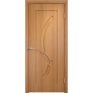 Дверь VERDA Милена глухая 2000х600 ПВХ Миланский орех коробка дверная дпг миланский орех 600 с петлями