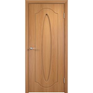Дверь VERDA Орбита глухая 2000х600 ПВХ Миланский орех коробка дверная дпг миланский орех 600 с петлями