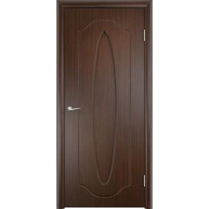 Дверь VERDA Орбита глухая 2000х700 ПВХ Венге дверь verda каролина глухая 2000х900 шпон дуб