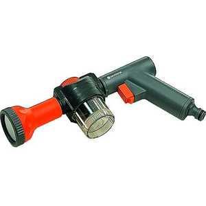 Пистолет удобряющий Gardena (01152-20.000.00) пистолет для полива жук душ пистолет с фиксатором 1 2