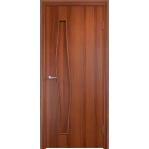 Дверь VERDA Тип С-10(г) глухая 2000х600 МДФ финиш-пленка Итальянский орех
