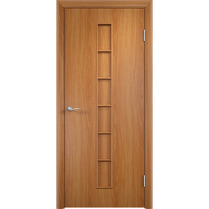 Дверь VERDA Тип С-12(г) глухая 2000х300 МДФ финиш-пленка Миланский орех дверь verda тип с 12 г глухая 2000х300 мдф финиш пленка итальянский орех