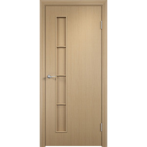 Дверь VERDA Тип С-14(г) глухая 2000х600 МДФ финиш-пленка Дуб белёный дверь verda каролина глухая 2000х900 шпон дуб