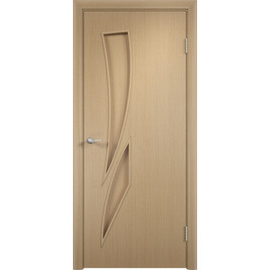 Дверь VERDA Тип С-2(г) глухая 1900х550 МДФ финиш-пленка Дуб белёный дверь verda каролина глухая 2000х900 шпон дуб