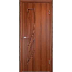 Дверь VERDA Тип С-2(г) глухая 2000х700 МДФ финиш-пленка Итальянский орех дверь verda тип с 2 г глухая 2000х900 мдф финиш пленка итальянский орех