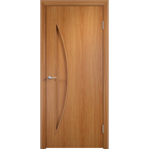 Дверь VERDA Тип С-6(г) глухая 1900х550 МДФ финиш-пленка Миланский орех пленка