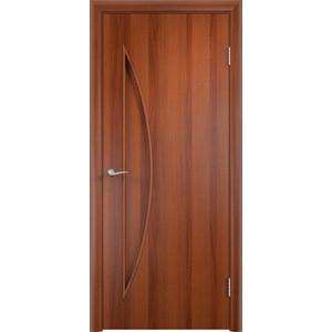 Дверь VERDA Тип С-6(г) глухая 2000х600 МДФ финиш-пленка Итальянский орех пленка