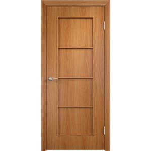 Дверь VERDA Тип С-8(г) глухая 2000х800 МДФ финиш-пленка Миланский орех дверь verda кэрол остекленная 2000х800 пвх миланский орех