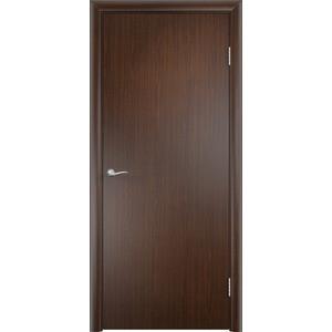 Дверь VERDA глухая 1900х550 МДФ финиш-пленка Венге дверь verda каролина глухая 1900х550 шпон макоре
