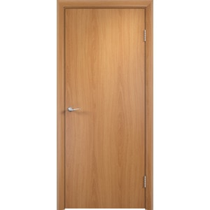 Дверь VERDA глухая 1900х600 МДФ финиш-пленка Миланский орех пленка