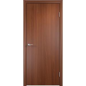 Дверь VERDA глухая 2000х400 МДФ финиш-пленка Итальянский орех пленка