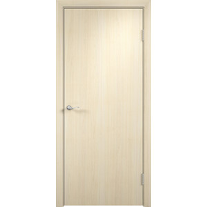 Дверь VERDA глухая 2000х700 МДФ финиш-пленка Дуб белёный