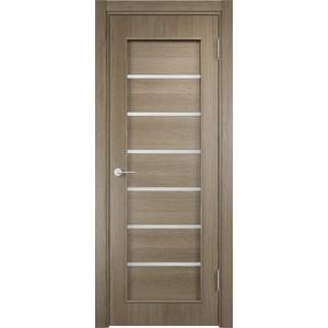 Дверь VERDA 31d остекленная 2000х700 экошпон Дуб дымчатый