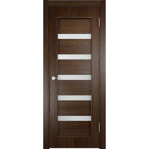 Дверь VERDA 32d остекленная 2000х600 экошпон Дуб табак
