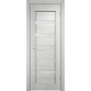Дверь VERDA 32d остекленная 2000х800 экошпон Слоновая кость