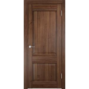Дверь CASAPORTE Милан-11 глухая 2000х900 экошпон Орех дверь межкомнатная из массива классическая моне 2000х700х40 глухая орех т 26