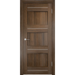 Дверь CASAPORTE Сицилия-15 глухая 2000х800 экошпон Венге мелинга дверь casaporte сицилия 11 глухая 1900х550 экошпон венге мелинга