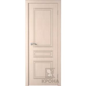 Дверь VERDA Стиль глухая 2000х600 шпон Дуб белёный