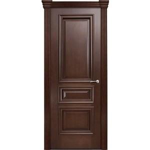 Дверь MILYANA Бристоль Сити глухая 2000х800 шпон Итальянский орех двери milyana alexdoor прима до американский орех