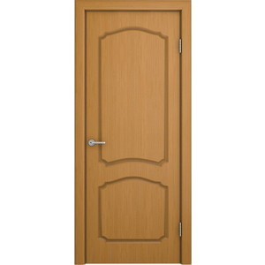 Дверь VERDA Каролина глухая 2000х800 шпон Дуб дверь verda каролина глухая 1900х550 шпон макоре
