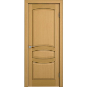 Дверь VERDA Сиена глухая 2000х600 шпон Дуб