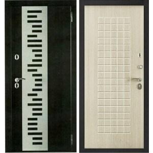 Дверь Berserker TT-G-301 входная 2050х860 металлическая Дуб белёный (с терморазрывом)(правая)  berserker tt g 301 входная 2050х960 металлическая дуб белёный с терморазрывом правая